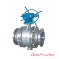 Quality Forged steel Worm gear trunnion mounted ball valve wholesale