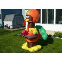 China CE Certificated Outdoor Giant Advertising Inflatables Turkey For Halloween Festival on sale
