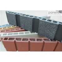 Cheap Easy Install Terracotta Wall Cladding System With Thermal Insulation Properties for sale