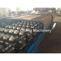 Quality Aluminum Metal Corrugated Roll Forming Machine Fully Automatic Panasonic PLC Control wholesale