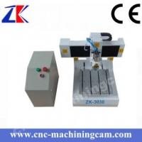 China Mini desktop printed circuited board cnc router  ZK-3030(300*300*80mm) on sale