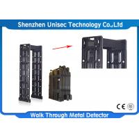 Quality Black Portable Door Frame Metal Detector For Security Check , CE / ISO wholesale
