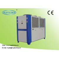 Quality 9.2~142.2 KW Industrial Air Cooled Water Chiller Galvanized Sheet Shell wholesale