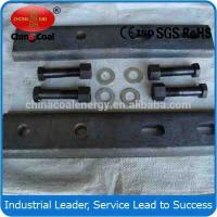 Quality Q235 S22 light steel rail and fish plate from China wholesale
