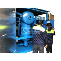 Double-stage vacuum transformer oil filter unit with Roots pump, high vacuum dewatering oil purifier