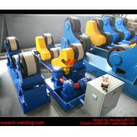 Cheap 80 Ton Full-Automatic VFD Control Pipe Welding Rotators For Cylinder Seam Welding for sale