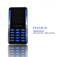 Cheap 006A Mini Tour Guide Audio System 8 Languages Handheld Digital Audio Guides For Museums for sale