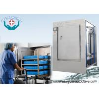 Quality Mechanical Hinge Single Door Pharmaceutical Autoclave With 0.2μm Membrane Type Air Filter wholesale
