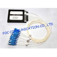 Quality CWDM optical multiplexers Mux / Demux Module 8 + 1 Channel High Isolation wholesale