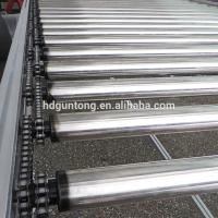 Quality Adjustable Chain Driven Roller Conveyor With Drum Motor Roller For Food Industry wholesale