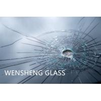 Quality 20-24mm Bullet Resistant Glass Flat Safety Laminated Glass wholesale