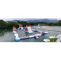 Quality HK Inflatable Floating Water Park Games Manufacturer / Inflatable Water Obstacle Course wholesale
