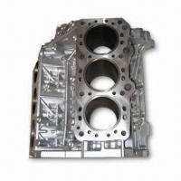 China Aluminum Alloy Casting with Chrome Plating Surface, Used in Auto Parts on sale