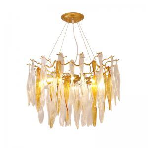 China Crystal Chandelier Modern Pendant Light / Crystal Hanging Ceiling Lights on sale