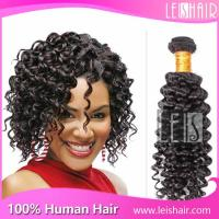 China Cheap Leis hair virgin brazilian deep curl hair weaving on sale