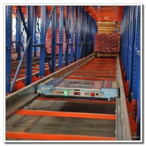 China Fully Automatic Warehouse Radio Shuttle Racking System Powder Coating Surface on sale