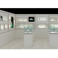 Quality Modern Fashion Style Wall Mounted Display Case For Jewelry Shop Display wholesale