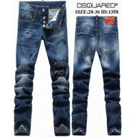 China DSQ spring Hotest fashion jeans leisure men's clothing branded men's trousers hole type on sale