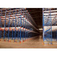 Cheap Pallet Radio Shuttle Racking Automated Shelving Systems With Two Motors for sale