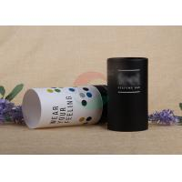Buy cheap Eco - Friendly Food Packing Paper Tube / Paper Cylinder Containers Customized Size product