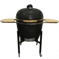 China EN1860 74cm Kamado Barbecue Grill Smoker on sale