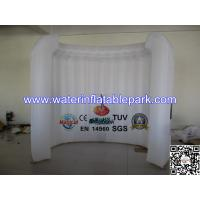 Quality White Inflatable Office Tent / Air Wall For Advertising , Custom Printed wholesale