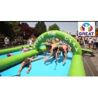 Quality High quality 1000ft slip n slide inflatable slide the city   GT-SAR-1680 wholesale