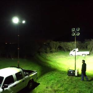 Quality 4.2m pneumatic telescopic mast lighting tower wholesale