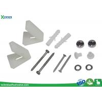 Quality Toilet Cistern Accessories , Stainless Steel Toilet Bolts With L Shape Bracket wholesale