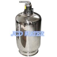 Buy cheap Stainless Steel Automatic Commercial Water Softener For Chemical Industry from wholesalers
