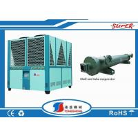 Quality Plastic Recycling Line Packaged Air Cooled Chiller , Air Cooled Water Chiller wholesale