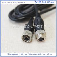 Quality Custom 4 Pin Rear View Video Cable For Backup Camera , 12V Or 24V Volta wholesale
