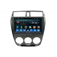 Quality Double Din Honda Navigation System , Multimedia Car Stereo 3G Wifi City 2008-2013 wholesale