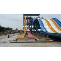 China pool racing swimming fiberglass pool big aqua water park pool equipment game machine flume on sale