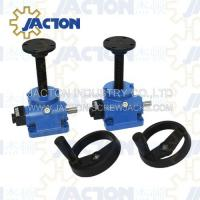 Quality screw jack manually operated, hand operated screw jack wholesale