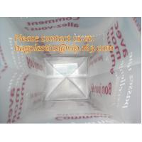 Quality Frosted Plastic Bags, flexi loop handle, die cut handle, block bottom, string bag, Jewelry wholesale