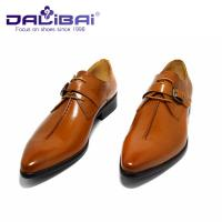Quality Genuine Leather Dress Shoes Lace Up Pointed Toe Man Shoes US 6.5 ~ 10.5 Size wholesale