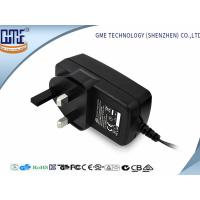 Quality CE GS Class 6 Black UK 9V 2A Universal AC DC Adapters for Speaker , 1 year Warranty wholesale