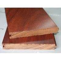 China  Real Wood Grain Registered Embossed  Solid Wood Flooring With Simplifies Installation on sale