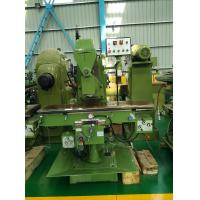 China Vertical Knee Type Milling Machine Wire Mesh Machinery 350*1600mm on sale
