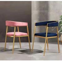 Quality Metal Frame Modern Dining Room Chairs With Comfortable Anti Skid Pad Seat wholesale
