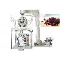 Quality Multihead Weigher Automatic Packing Machine For Dried Cranberries , Fruit , Candy wholesale