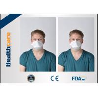 Quality 3 Ply N95 Disposable Face Mask / Disposable Particulate Respirator Clam Shape wholesale