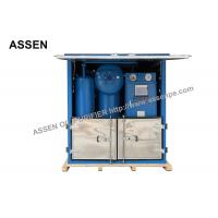 Quality Double Stage Transformer Oil Purification System with Decompression Separation,Precise Filtration wholesale