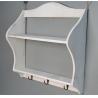 Buy cheap Wooden wedding decoration Multi-function Storage Rack shelf Wood Sundries Holder from wholesalers