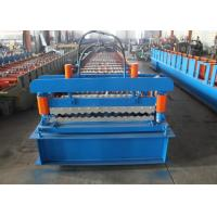 Quality Cladding Profile IBR Metal Roofing Sheet Roll Forming Machine PLC Control wholesale