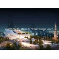 China Rust Proof Durable Lightweight Steel Buildings A572 Material Easy Installation on sale