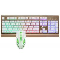 Quality Easy Operation Pc Gaming Keyboard And Mouse Set Water Resistant Design wholesale