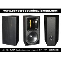 "Quality 600W Nightclub Sound Equipment , 1.4"" + 15"" Full Range Speaker For Show , Disco , Living Event And DJ wholesale"