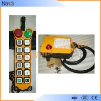Quality Yellow 11 Programmable Double Step Pushbutton Wireless Hoist Remote Control wholesale